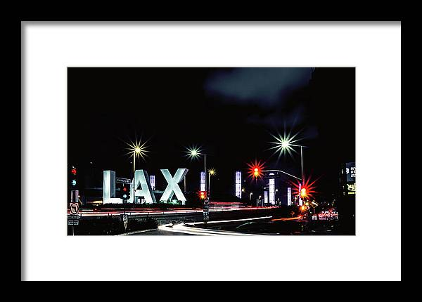 Lax Framed Print featuring the photograph Stars Over Lax by April Reppucci