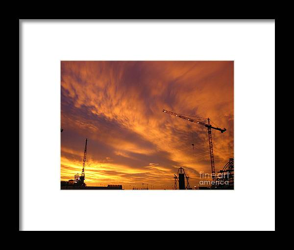 Sunrise Framed Print featuring the photograph Start Of The Day by Jerry Patchin
