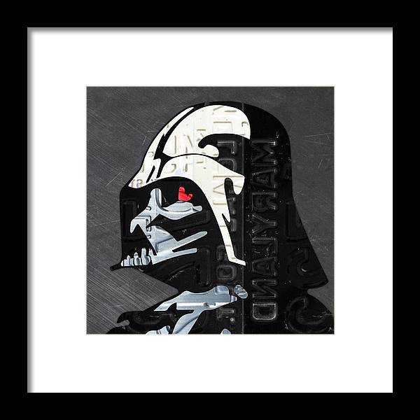 Starwars Framed Print featuring the photograph #starwars #theforceawakens #episode7 by Design Turnpike