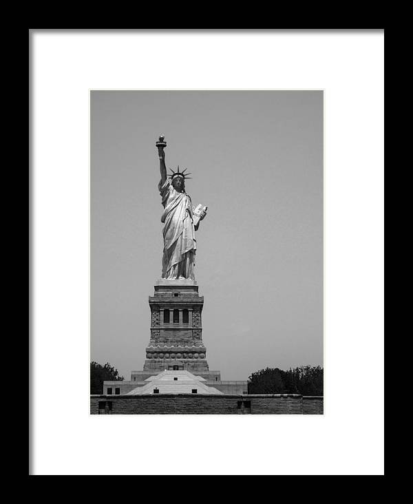 Statue Of Liberty Framed Print featuring the photograph Statue Of Liberty by Dorota Niezgoda
