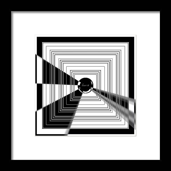 Fania Simon Framed Print featuring the mixed media Stay Focused by Fania Simon