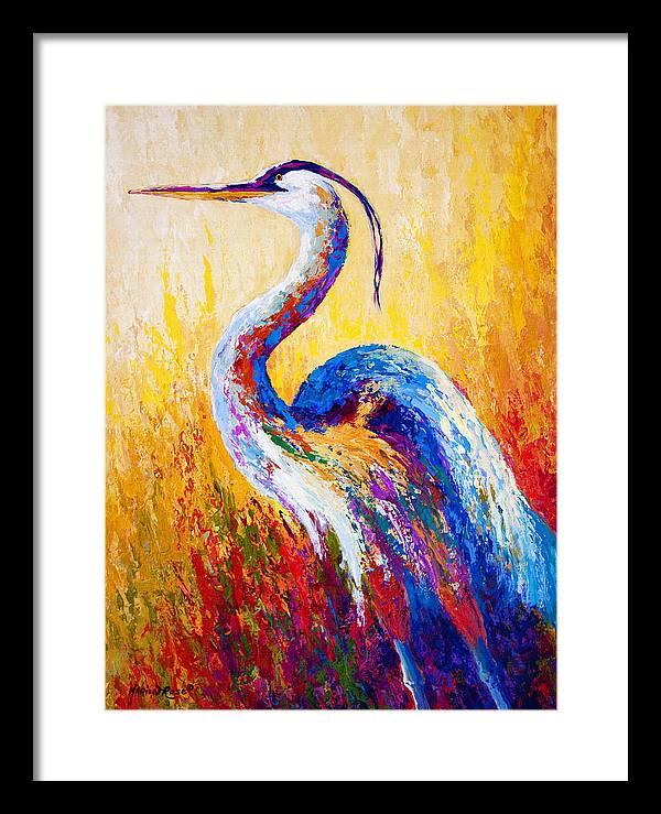 Blue Heron Framed Art Prints   Fine Art America