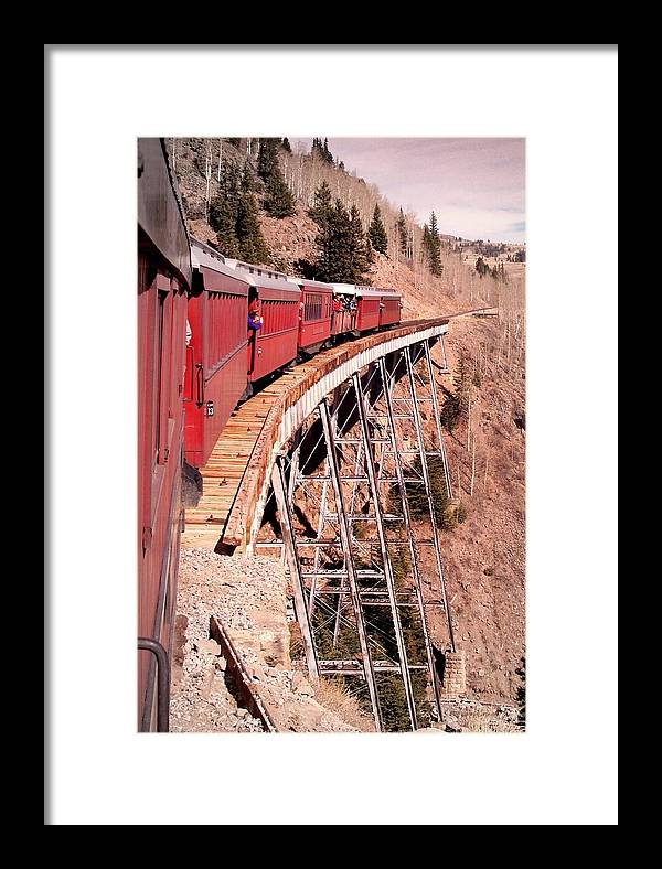 Trains Framed Print featuring the photograph Steam Train Wonder.. by Al Swasey