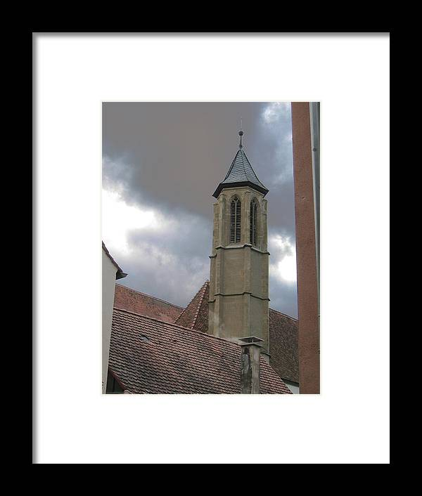 Cathedral Framed Print featuring the photograph Steeple by Dylan Punke