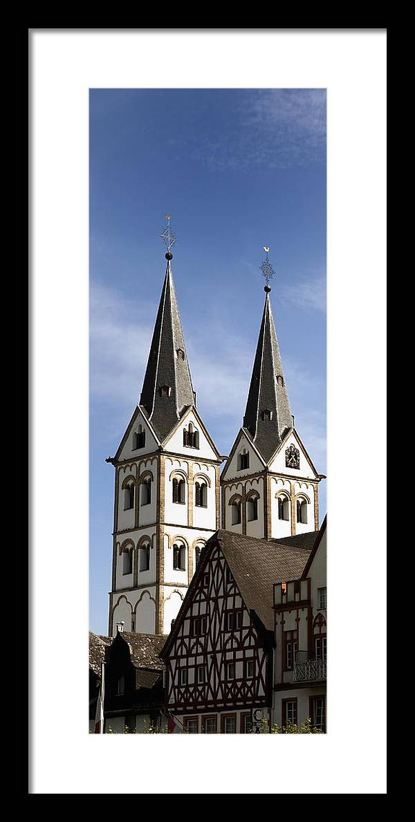 Steeple Framed Print featuring the photograph Steeples by Cecil Fuselier