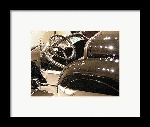 Cars Framed Print featuring the photograph Steering by Heather Weikel