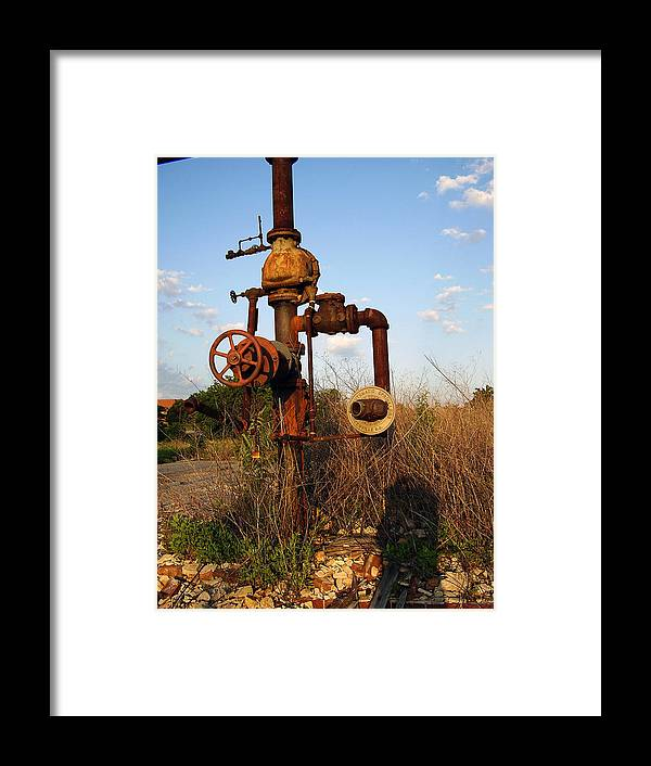 Pipes Framed Print featuring the photograph Still Here by Flavia Westerwelle