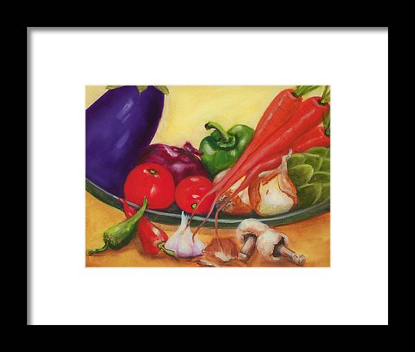 Still Life Framed Print featuring the painting Still Life 4 by Joni McPherson