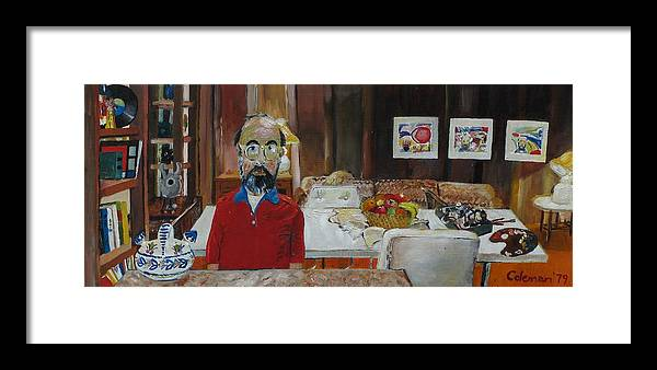 Self Portrait Framed Print featuring the painting Still Life by Gary Coleman