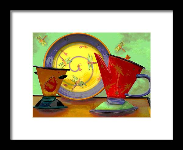 Dragonflys Framed Print featuring the photograph Still Life One by Jeff Burgess