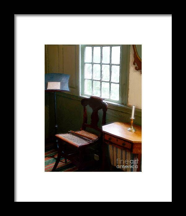 Still Life Framed Print featuring the painting Still Life, Stevens House by RC DeWinter