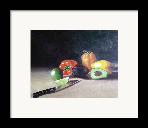 Framed Print featuring the painting Still-life by Toni Berry