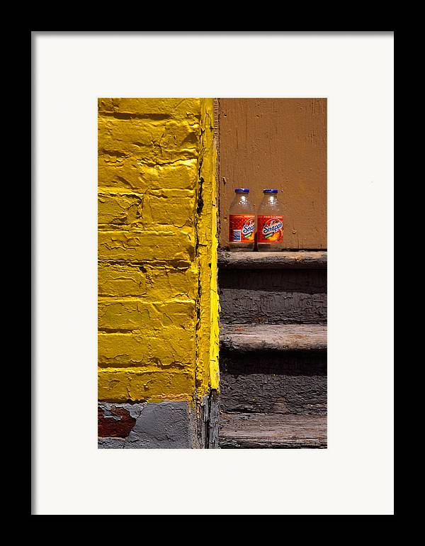 Montreal Framed Print featuring the photograph Still Life With Snapple by Art Ferrier