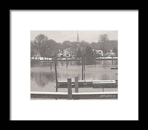 Landscapes Framed Print featuring the photograph New England Peace by Rick Maxwell
