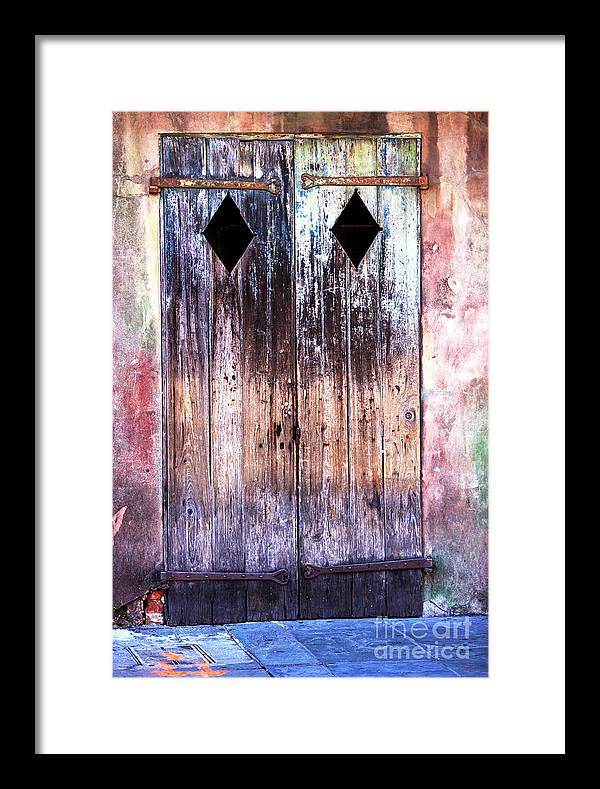 Still Standing In New Orleans Framed Print featuring the photograph Still Standing In New Orleans by John Rizzuto