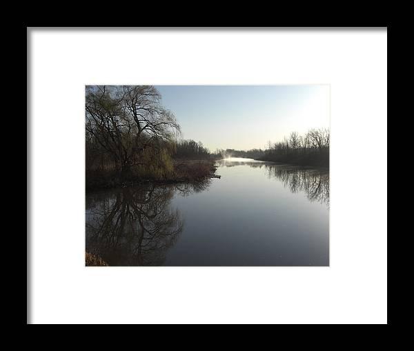 Still Water Framed Print featuring the photograph Still Water by Robert Collier