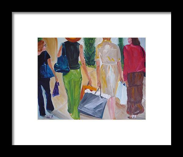 Figurative Framed Print featuring the painting Stimulus Packages by Irit Bourla