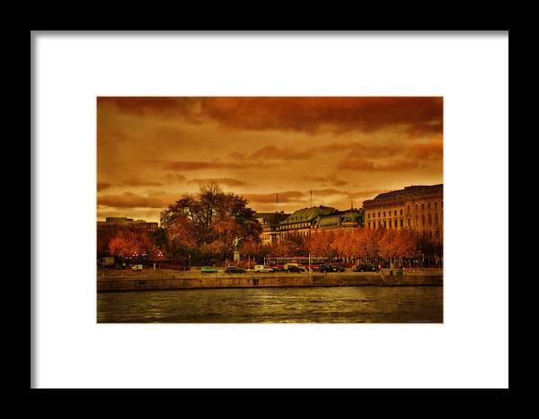 Cities Framed Print featuring the photograph Stockholm In Autumn Vi by Ramon Martinez