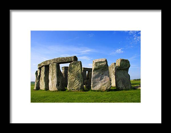 Stonehenge No 1 Framed Print featuring the photograph Stonehenge No 1 by Kamil Swiatek