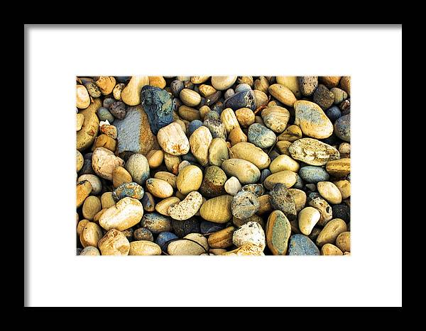 Stones Framed Print featuring the photograph Stones 0962 by Edward Ruth