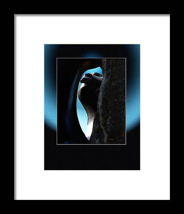 African Art Framed Print featuring the photograph Stoneview by Richard Gordon