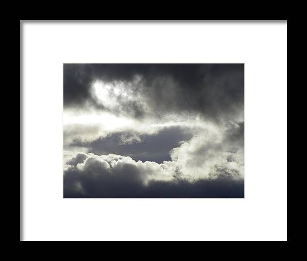 Photography Framed Print featuring the photograph Storm Intensified by Laurie Kidd