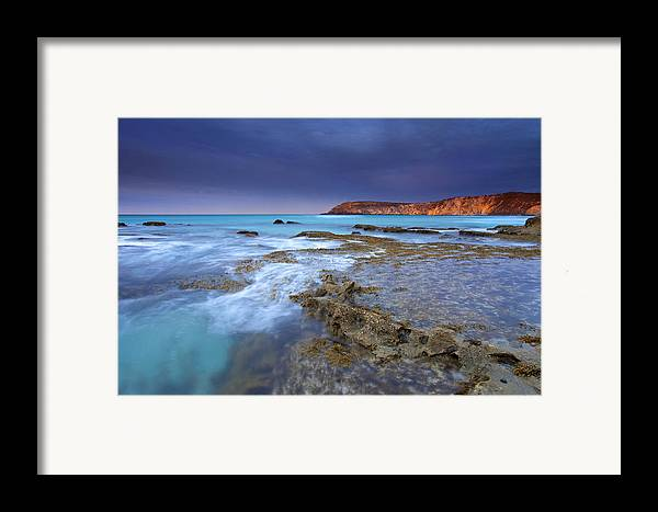 Dawn Framed Print featuring the photograph Storm Light by Mike Dawson