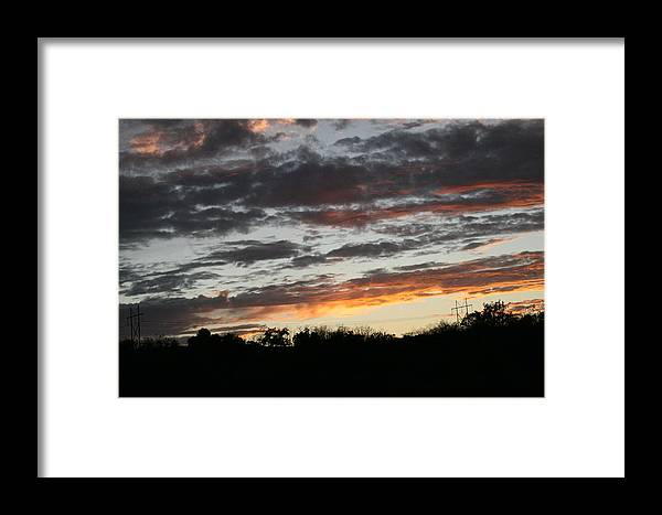 Sunset Framed Print featuring the photograph Storm Madness by Lynn Michelle