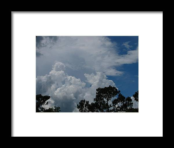 Patzer Framed Print featuring the photograph Storm Moving In by Greg Patzer