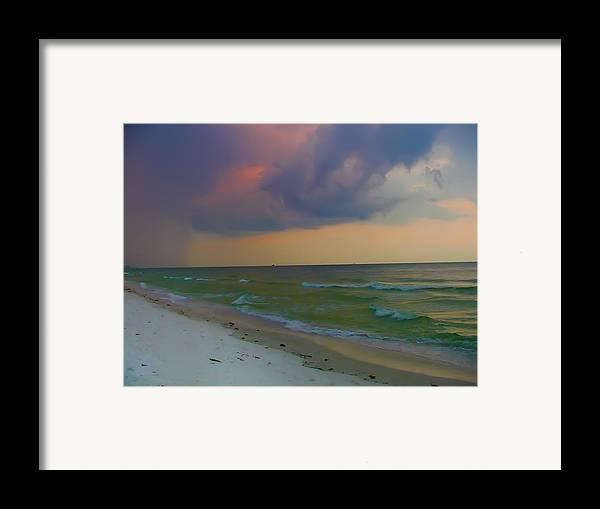 Storm Framed Print featuring the photograph Storm Warning by Bill Cannon