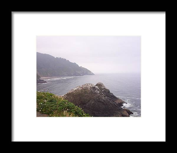 Ocean Framed Print featuring the photograph Stormy Day by J Bauer