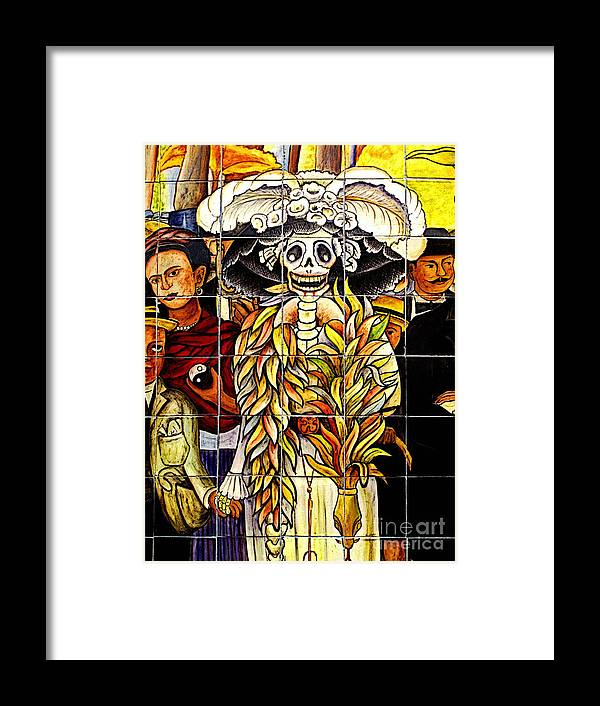 Mexicolors.com Framed Print featuring the photograph Story Of Mexico 7 by Mexicolors Art Photography