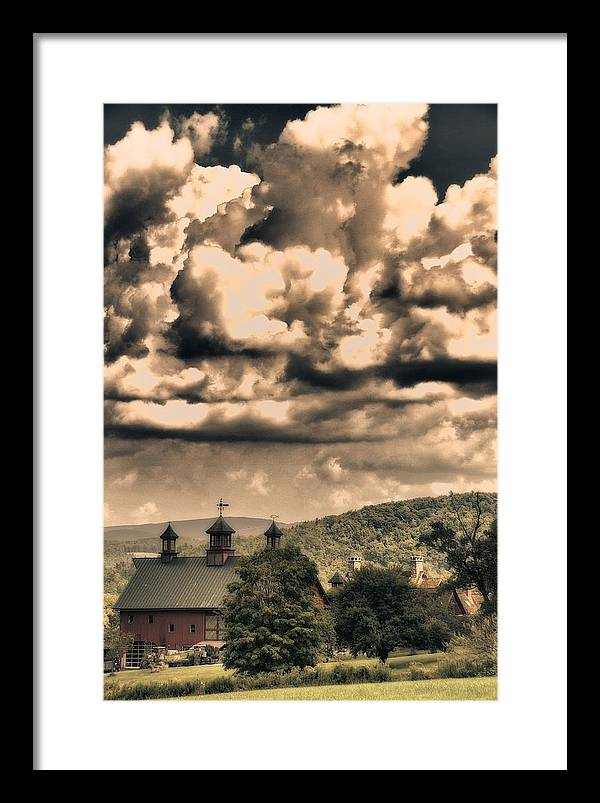 Farm Framed Print featuring the photograph Storybook Farm by Nathan Larson