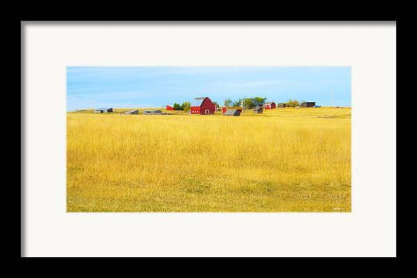 Barn Framed Print featuring the photograph Storybook Farm by Theresa Tahara