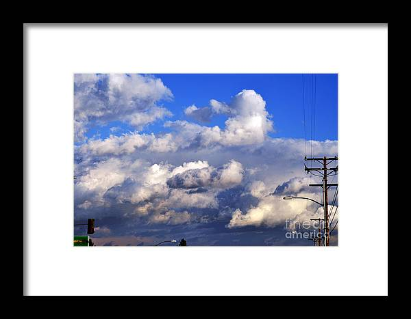 Clay Framed Print featuring the photograph Strange Clouds by Clayton Bruster