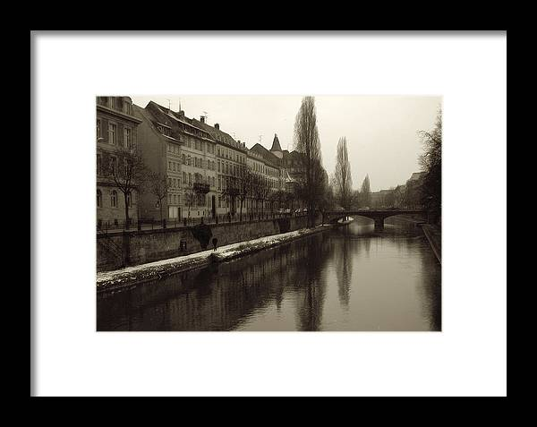 Framed Print featuring the photograph Strasbourg by Dave Byers
