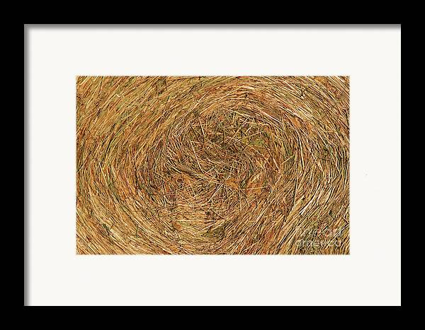 Hay Framed Print featuring the photograph Straw by Michal Boubin