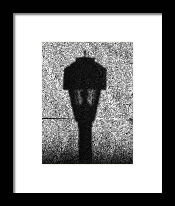 Street Light Framed Print featuring the photograph Street Light by Robert Ullmann