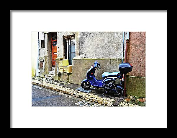 Street Framed Print featuring the photograph Street View by HazelPhoto