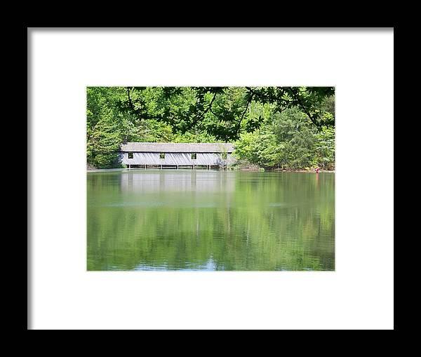 Bridge Framed Print featuring the photograph Strength by Jessica Burgett