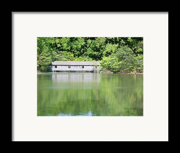 Bridge Framed Print featuring the photograph Strength by Jessica Burgett
