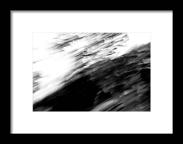 Abstract Framed Print featuring the photograph Stretch by Alexis Harris