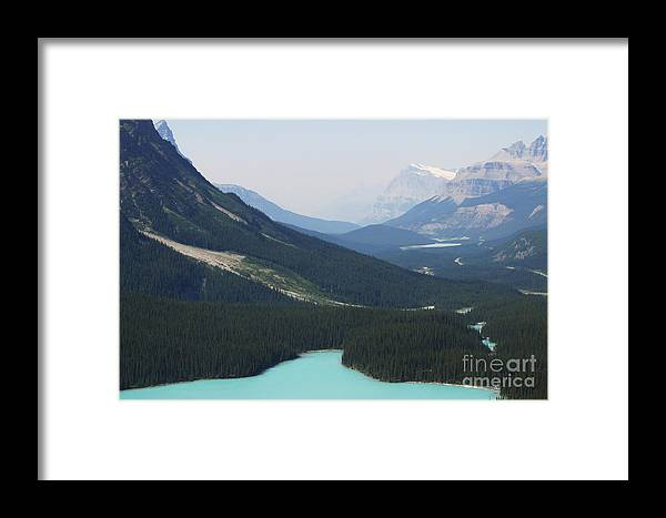 Lakes Framed Print featuring the photograph String Of Lakes by Janice Keener