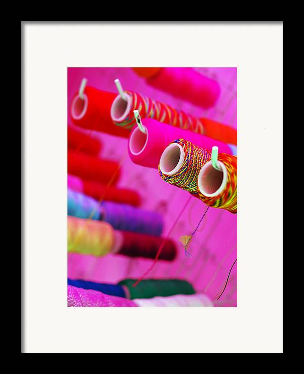 Color Framed Print featuring the photograph String Theory by Skip Hunt