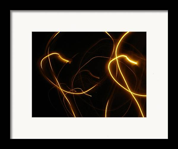 Photography Framed Print featuring the photograph Strings Of The Universe by Lessandra Grimley