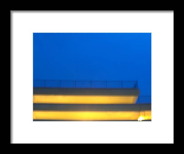 Parking Framed Print featuring the photograph Structure by Jacob Stempky