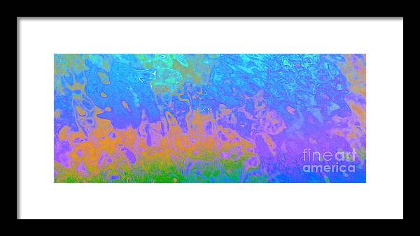 Water Framed Print featuring the photograph Dancing In The Night by Sybil Staples