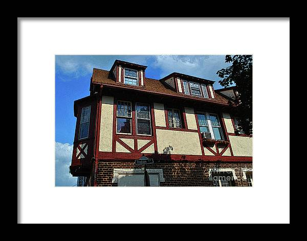 Winchester Framed Print featuring the photograph Stucco On My Mind by Jost Houk