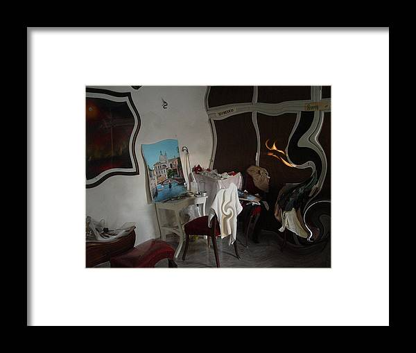 Studio Framed Print featuring the photograph Studio S by Angel Ortiz