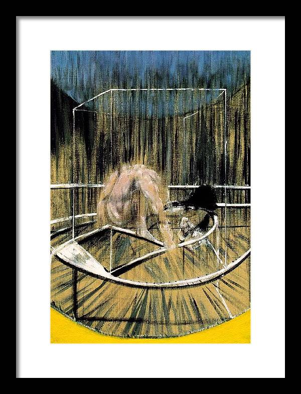 Study for Crouching Nude by Francis Bacon